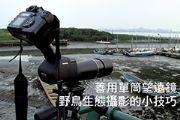 善用單筒望遠鏡 - 野鳥生態攝影的小技巧