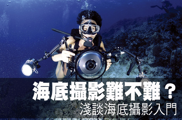 海底攝影難不難?淺談海底攝影入門海底攝影難不難?淺談海底攝影入門