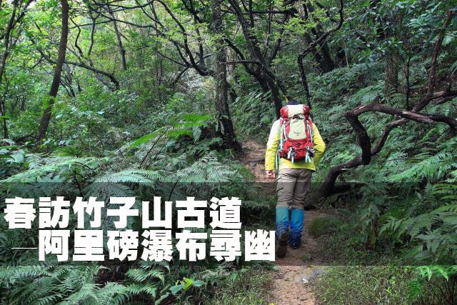 春訪竹子山古道 ─ 阿里磅瀑布尋幽春訪竹子山古道 ─ 阿里磅瀑布尋幽