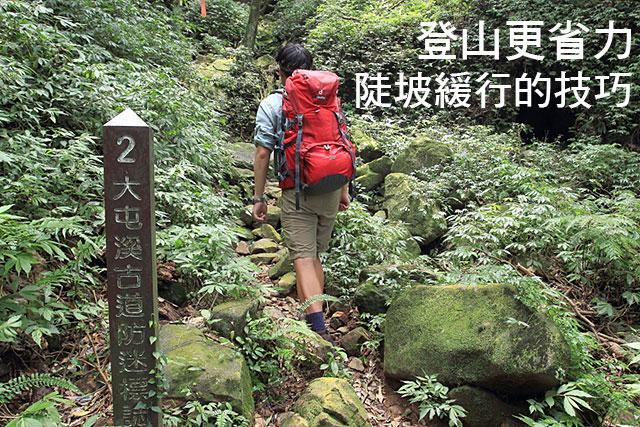 登山更省力 陡坡緩行的技巧登山更省力 陡坡緩行的技巧