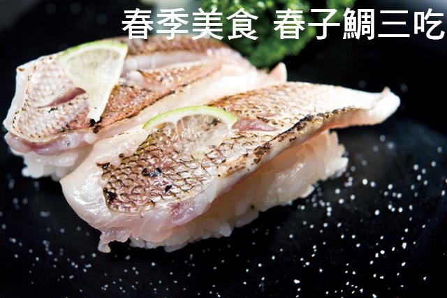 春季美食 春子鯛三吃春季美食 春子鯛三吃