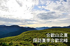 合歡山之夏 探訪夏季合歡北峰